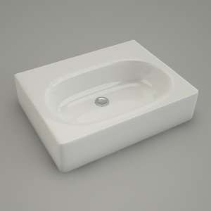 free 3d models - sink vanity TWINS 60cm