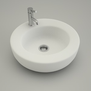 free 3d models - sink vanity round COCKTAIL 45cm