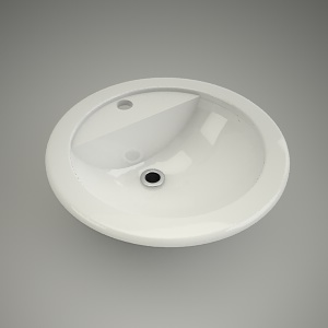 Washbasin round verone