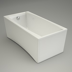 free 3d models - Bath VIRGO 150
