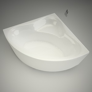 Corner Baths - Free 3d models - Free 3D Base