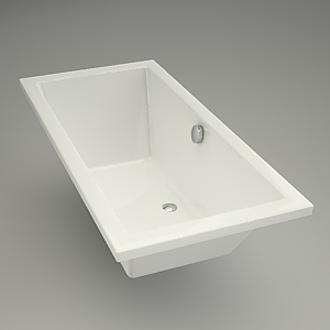Rectangular bath INTRO 160