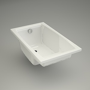 Rectangular bath VIRGO 120