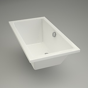 Rectangular bath VIRGO 140