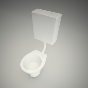 free 3d models - Wc standing nova top junior