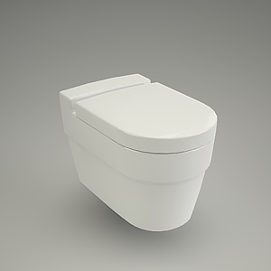 Wc hanging deco cersanit free 3d models free 3d base - Deco wc blauw ...