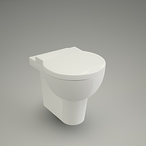 Wc hanging nano cersanit free 3d models free 3d base - Model deco wc ...