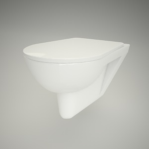 free 3d models - Wc hanging primo