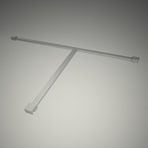 free 3d models - 90cm bracket to the wall next