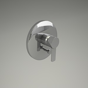 free 3d models - ZENTA shower mixer 386500575_3