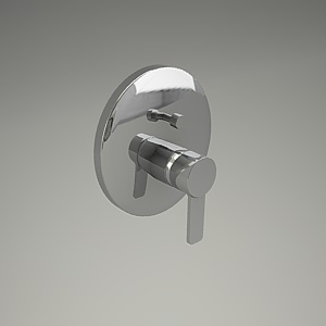 free 3d models - ZENTA shower mixer 386570575_3