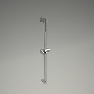 ZENTA shower rail 3d model 6061005-00_3