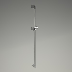 ZENTA shower rail 3d model 6062005-00_3