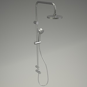 free 3d models - ZENTA shower set 6609005-00_3