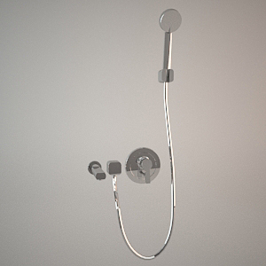 Shower set II 3d model LOGO NEO