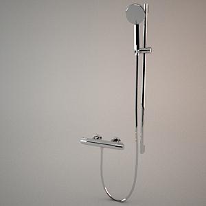 Shower Model shower sets - free 3d models - free 3d base