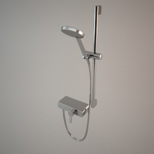 free 3d models - Shower set 3d model O-CEAN