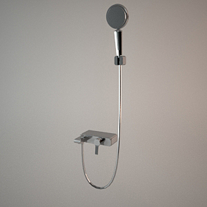 Shower set V 3d model O-CEAN