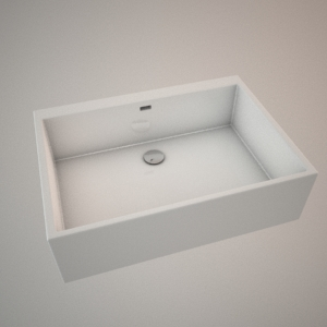 Ceramic sink 70 cm 3d model NOVA PRO