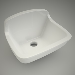 Ceramic sink boston 50cm