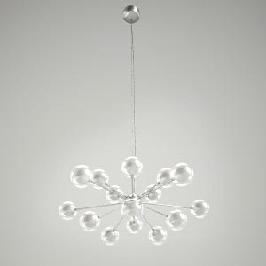 chandelier 3d model - MAGICLIGHT 15