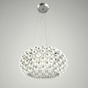 free 3d models - chandelier 3d model - MIRAGE 400