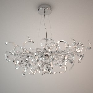 Chandelier 3d model - GENUA