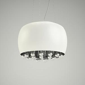 chandelier 3d model MOONLIGHT WHITE 06L