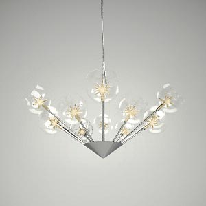 free 3d models - chandelier 3d model - SUNLIGHT 12