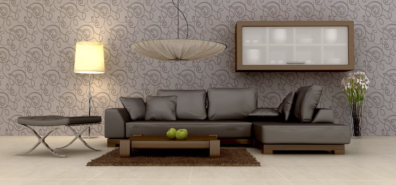 brow leather sofa